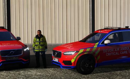 Devon and Cornwall Air Ambulance | Critical Care Car | XC90 | Re-Skin [6:24 PM]