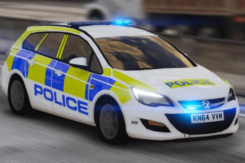 Devon and Cornwall Police Vauxhall Astra (2015) [Skin]