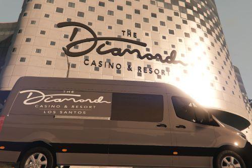 Diamond Casino and Resort Mercedes-Benz Sprinter Shuttle Bus