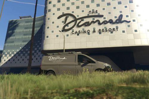 Diamond Casino and Resort Mercedes-Benz Vito Maintenance Van