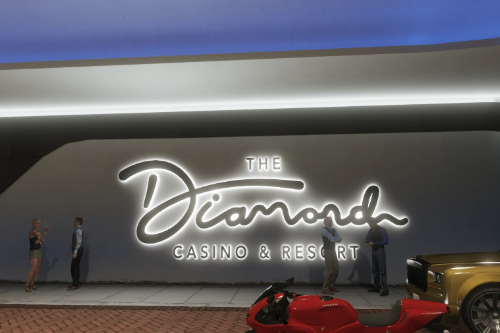 Diamond Casino Exterior Scenario