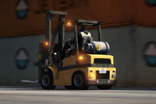 HVY Forklift [NON-ELS / Add-On / FiveM]