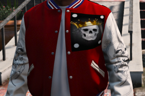 Died king hoodie for Franklin