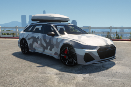 Digital and Camo Liverys for Abolfazldanaee 2020 Audi RS6 Avant