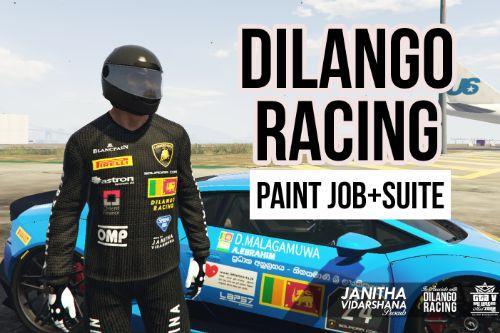 Dilango Racing Paint Job for Lamborghini Huracan LP-610 (Sri Lankan)