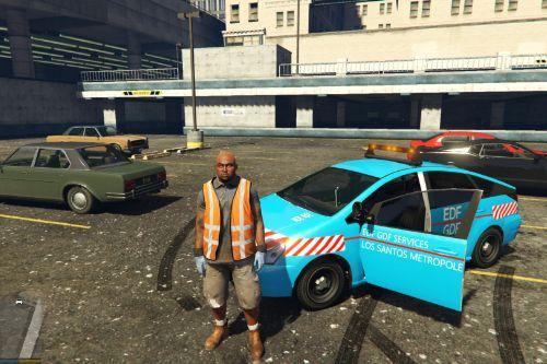 Dilettante | vehicule EDF GDF Los Santos