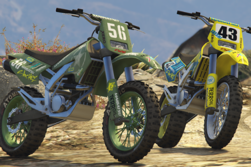 Dirt Bike Wheels Mini Pack [Add-On | LODs]