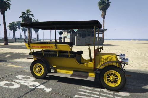 Disneyland Jitney [Add-On | FiveM]