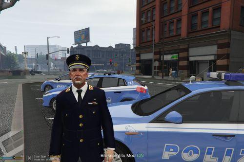 Divisa Commissario Polizia di Stato NPC