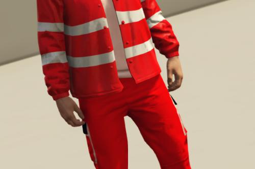 Divisa Croce Rossa Italiana - [EUP]