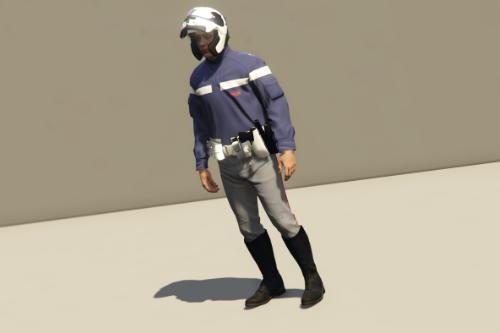 Divisa Motociclisti - Polizia Di Stato [EUP]