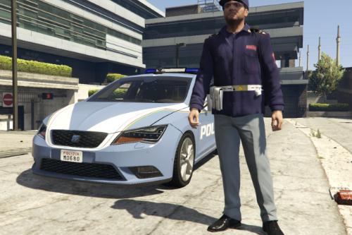 Divisa Polizia di Stato Squadra Volante Invernale per Michael