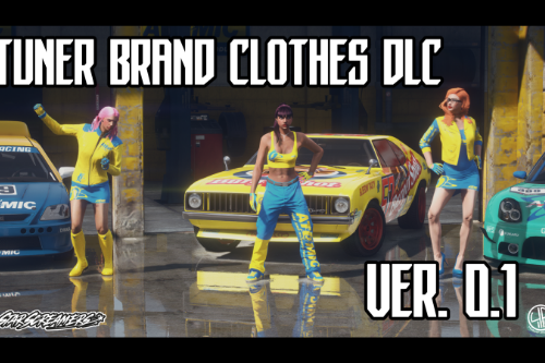 Tuner Brand Clothes, MP Female [DLC Pack]