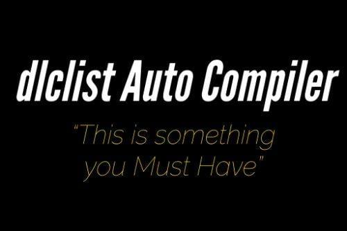 dlclist AutoCompiler