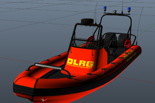 DLRG - Rettungsboot - Paintjob