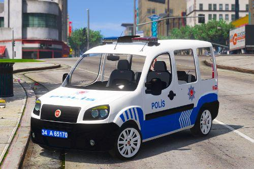 Doblo Multi Jet 2008 Turkish police [Replace][ELS]