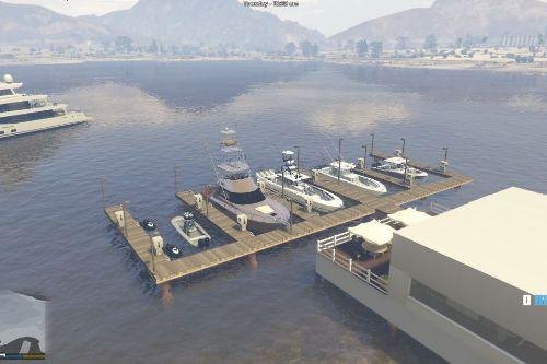 docks with ramp!