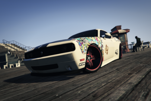 Dodge Challenger SRT8 (Drift_Edition) Skin