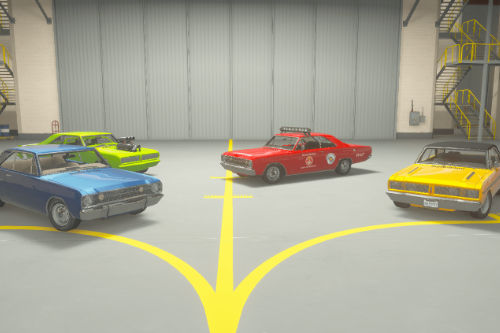 Dodge Charger & Dart Brazillian Model 70s [Add-On | Tuning | Template]