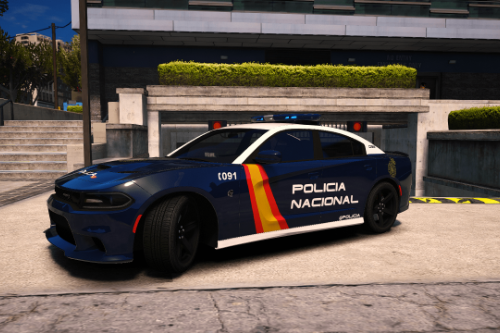 Dodge Charger Hellcat SRT Policia Nacional/CNP of Spain/España[FiveM-ADD-ON-Replace]