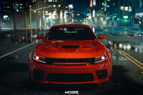 Dodge Charger Hellcat Widebody 2021 [Add-On | Animated | Template]