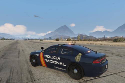 Dodge Charger Policia Nacional España - CNP [ELS]