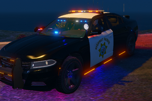 Dodge Charger Pursuit Christmas Tree (Cali Tree) (California Highway Patrol (CHP) Edition |LODS|4K Skin