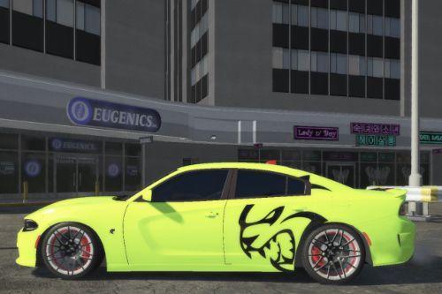 Dodge Charger SRT hellkat skin