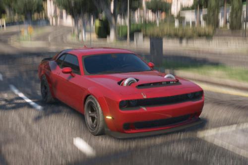 LS Swap Dodge Demon [Replace / FiveM | Animated]