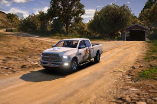 Dodge Ram 2500 (livery)