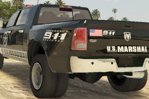 Dodge Ram 3500 Texture U.S Marshal