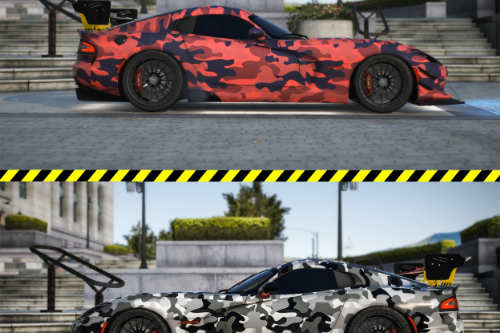 Dodge SRT viper ACR Livery