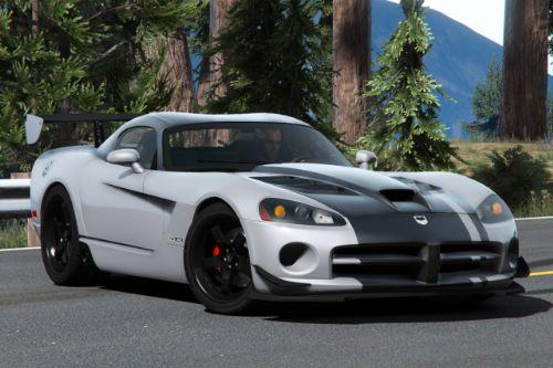 2008 Dodge Viper [Add-On | LODs | ACR | Extras | Template]