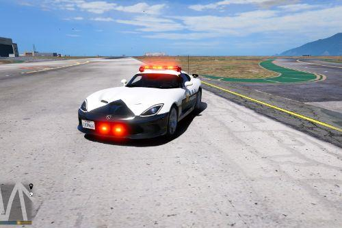Dodge Viper Pursuit - Japanese Police Paintjob