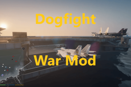 Dogfight: Warfare Mod & Moving Carrier, Elevators, Catapults, Deflectors.