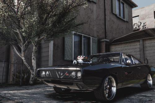 Dom's 1970 Dodge Charger (Furious 7) [Working Blower | Add-On | LODs]