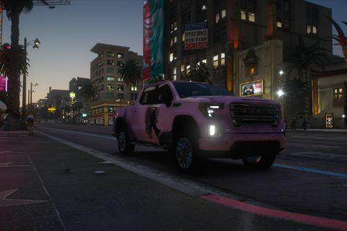 Don't Fall (Livery for 2019 GMC Sierra AT4)