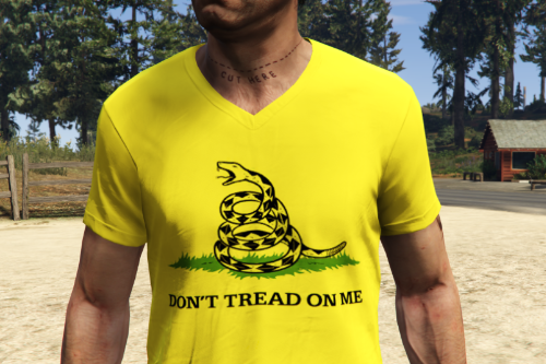 Don't Tread On Me + No Step On Snek Shirts For Trevor