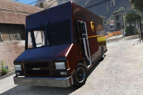 Boxville2 with Static Sliding Doors + UPS Skin [Replace]