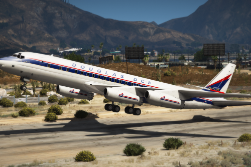 Douglas DC-8 Ultimate Package [Add-On | Package I Tuning I Liveries]
