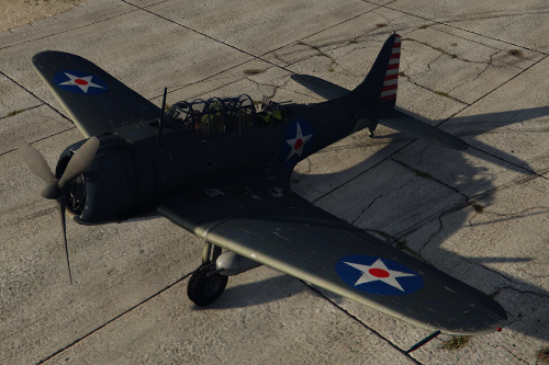 Douglas SBD-3 Dauntless [Add-On]