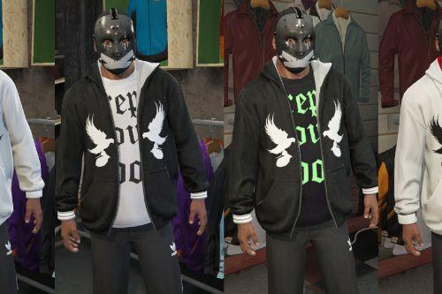 Dove & Grenade Hoodie (from Hollywood Undead)
