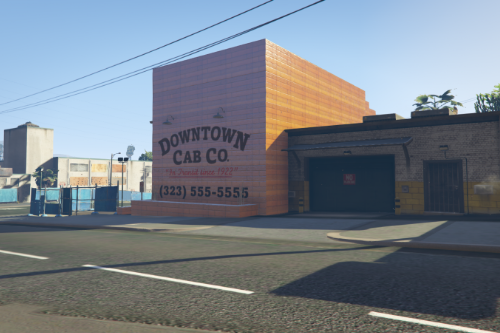 DownTown Cab & Co Revision / No Interior