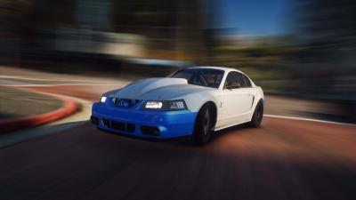 Drag Car 2002 Mustang Cobra  [Add-on/ Replace-FIveM ]