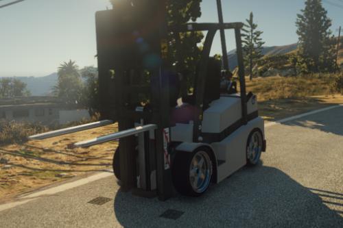 Drag Forklift [Replace / FiveM]