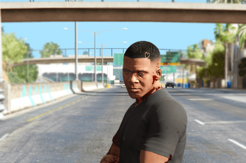 Drake haircut for Franklin