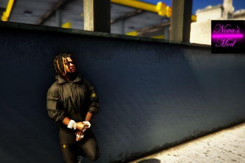 Dreads & Braids Pack for Frank 2