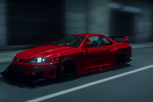 Drift handling for NoHz Nissan Skyline GT-R34