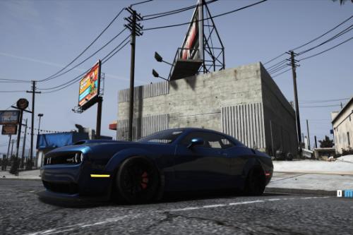 Drift Handling for tk0wnz's Dodge Challenger