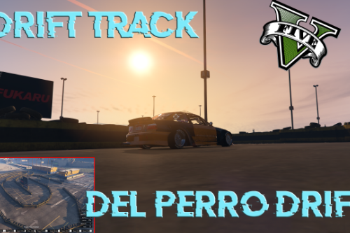 Del perro Drift map easy